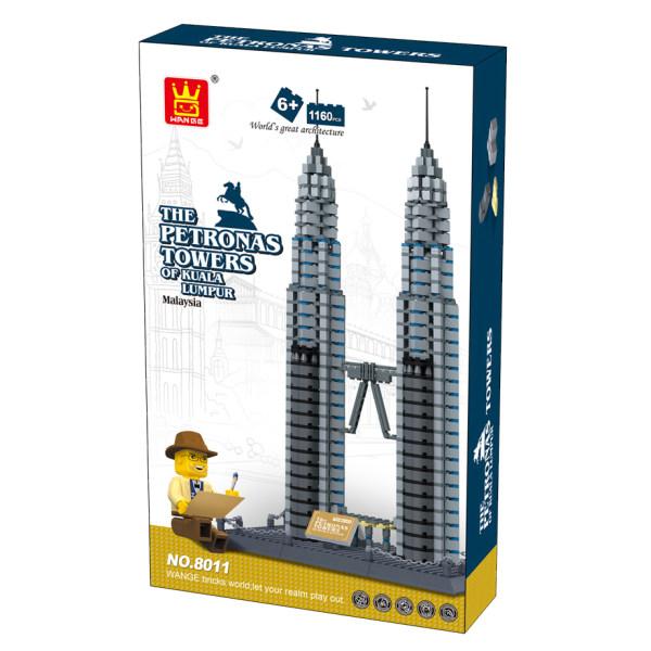 ساختنی وانگه مدل برجهای پتروناس کد 8011