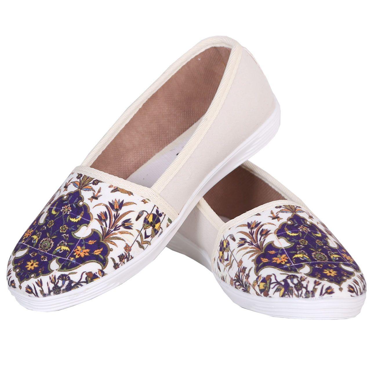 ست کیف و کفش زنانه طرح کاشی کد sg810 main 1 3