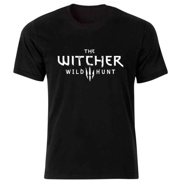 تیشرت مردانه طرح witcher کد 36137 BW