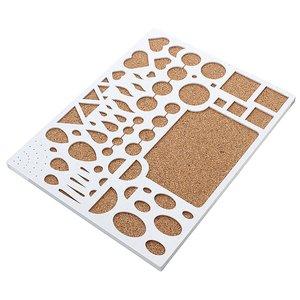تخته ملیله کاغذی مدل اشکال کد QB2
