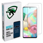 محافظ صفحه نمایش مدل bjnm مناسب برای گوشی موبایل سامسونگ galaxy a51 بسته 2 عددی