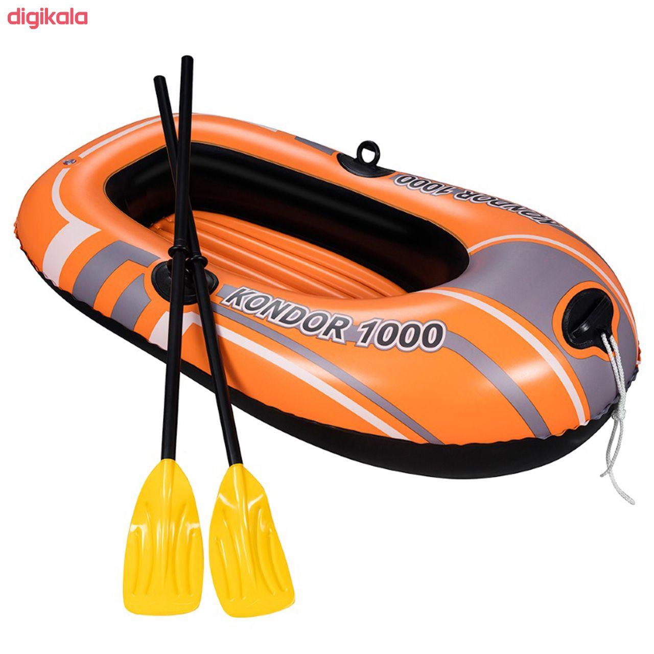 قایق بادی بست وی مدل Kondor1000  main 1 3