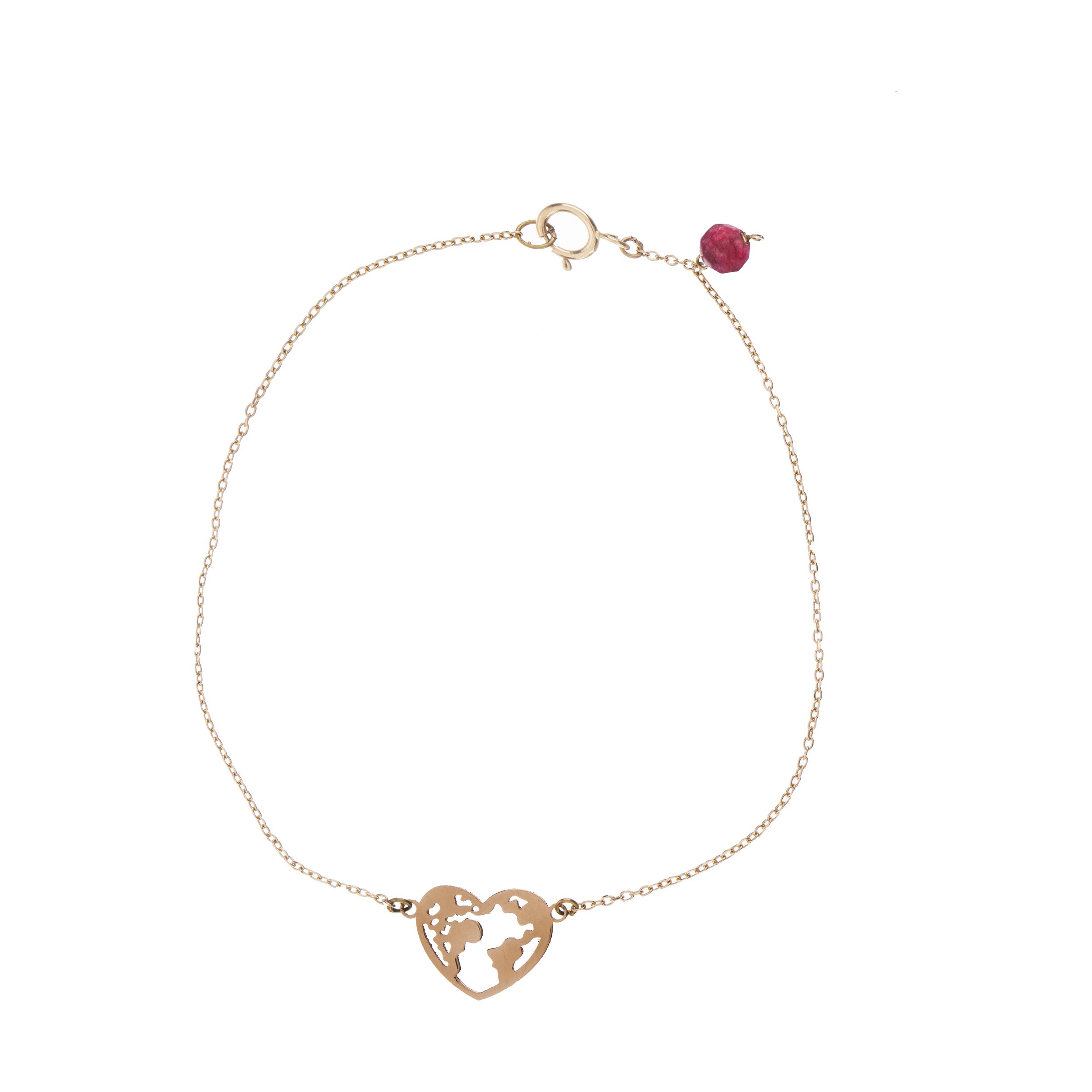 دستبند طلا 18 عیار زنانه نیوانی مدل DA618