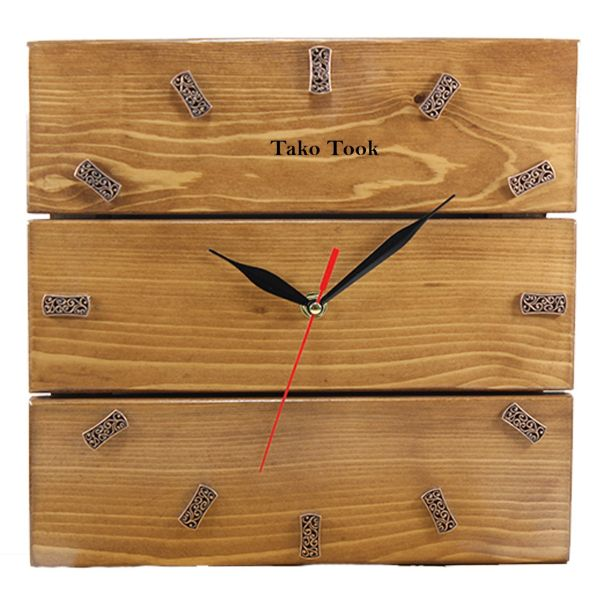 ساعت دیواری تک و توک مدل T-015 سایز 60×60