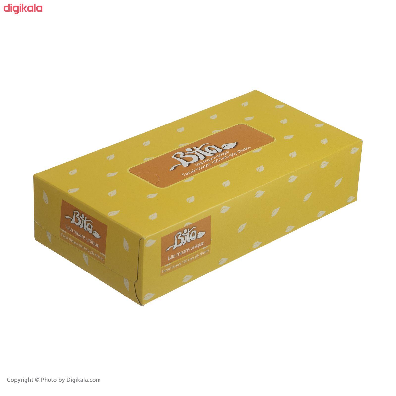 دستمال کاغذی 100 برگ بی تا بسته 4 عددی main 1 17