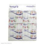 دستمال کاغذی 100 برگ مرحبا مدل Flower بسته 10 عددی