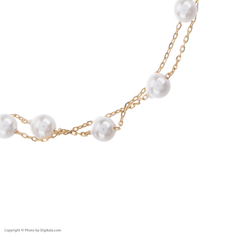 دستبند طلا 18 عیار زنانه نیوانی مدل DA621