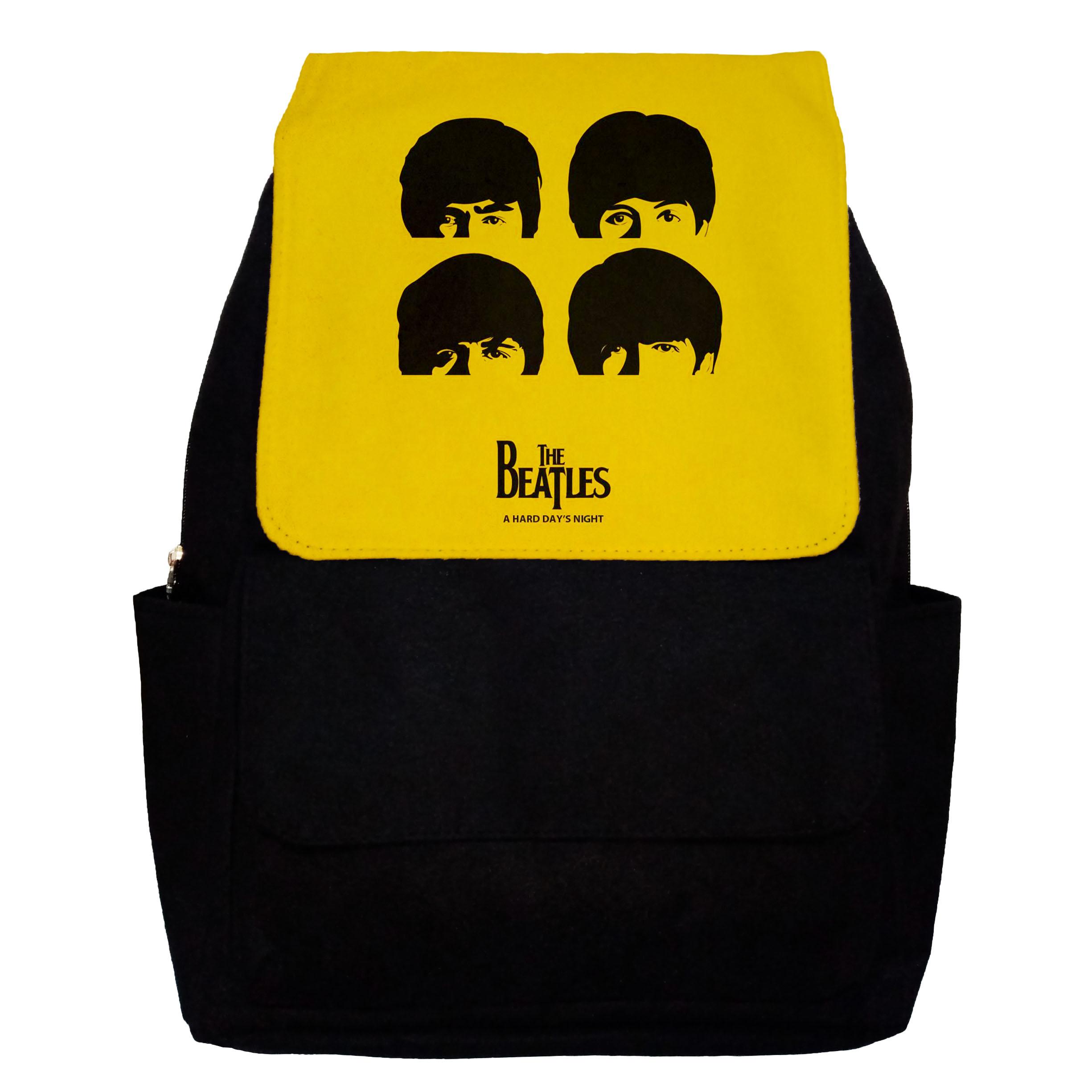 کوله پشتی طرح The Beatles مدل G11