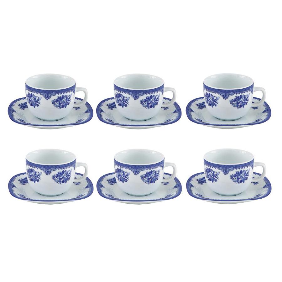 سرویس چای خوری 12 پارچه چینی زرین ایران مدل Heaven
