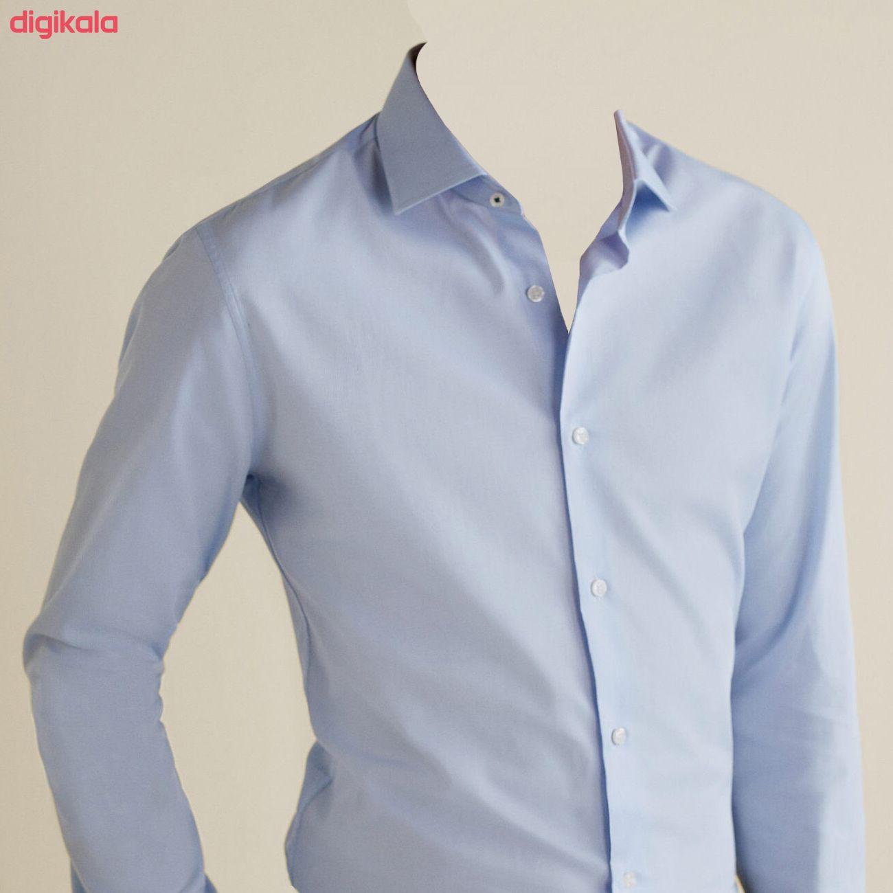 پیراهن مردانه مانگو مدل 660 main 1 3