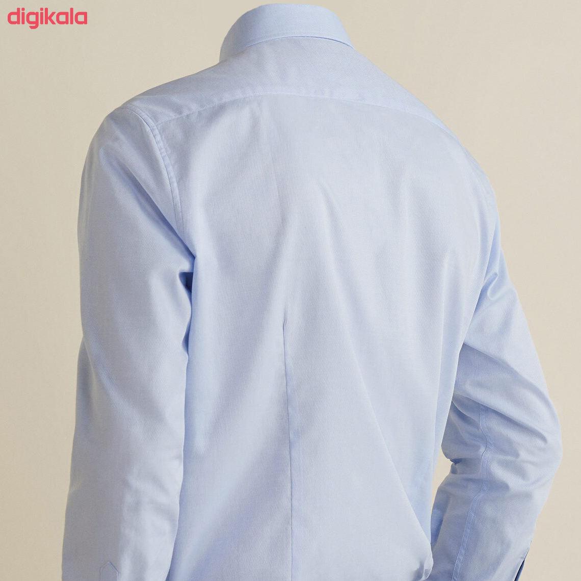پیراهن مردانه مانگو مدل 660 main 1 4