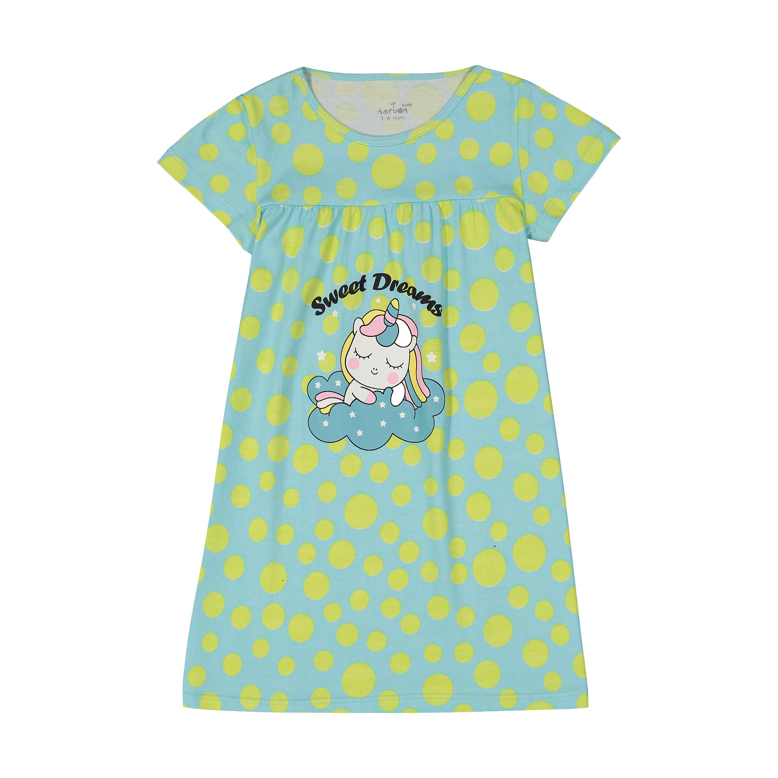 پیراهن راحتی دخترانه ناربن مدل 1521211-5316
