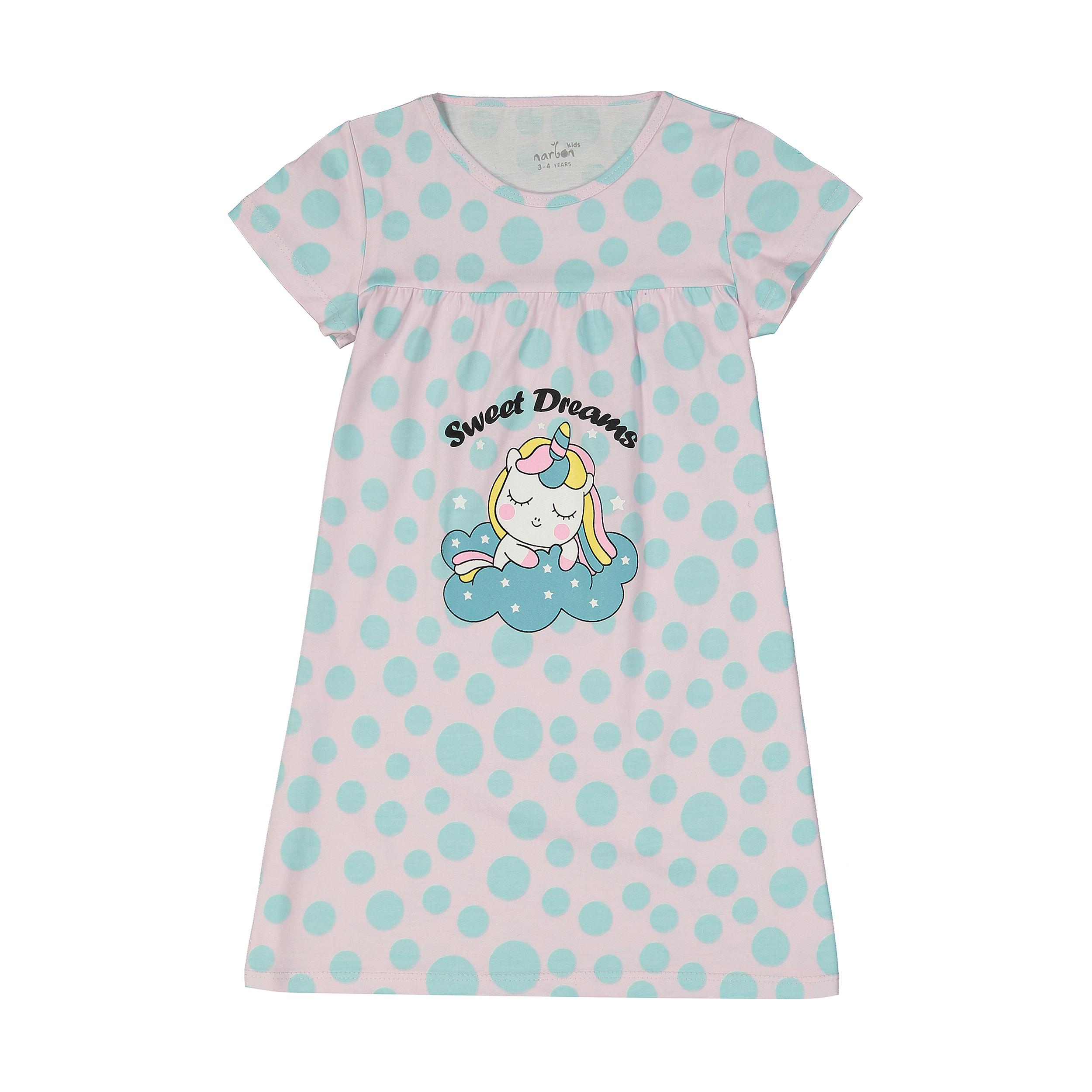 پیراهن راحتی دخترانه ناربن مدل 1521211-8450