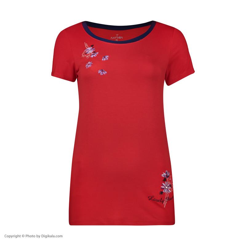 ست تی شرت و شلوار راحتی زنانه ناربن مدل 1521203-72