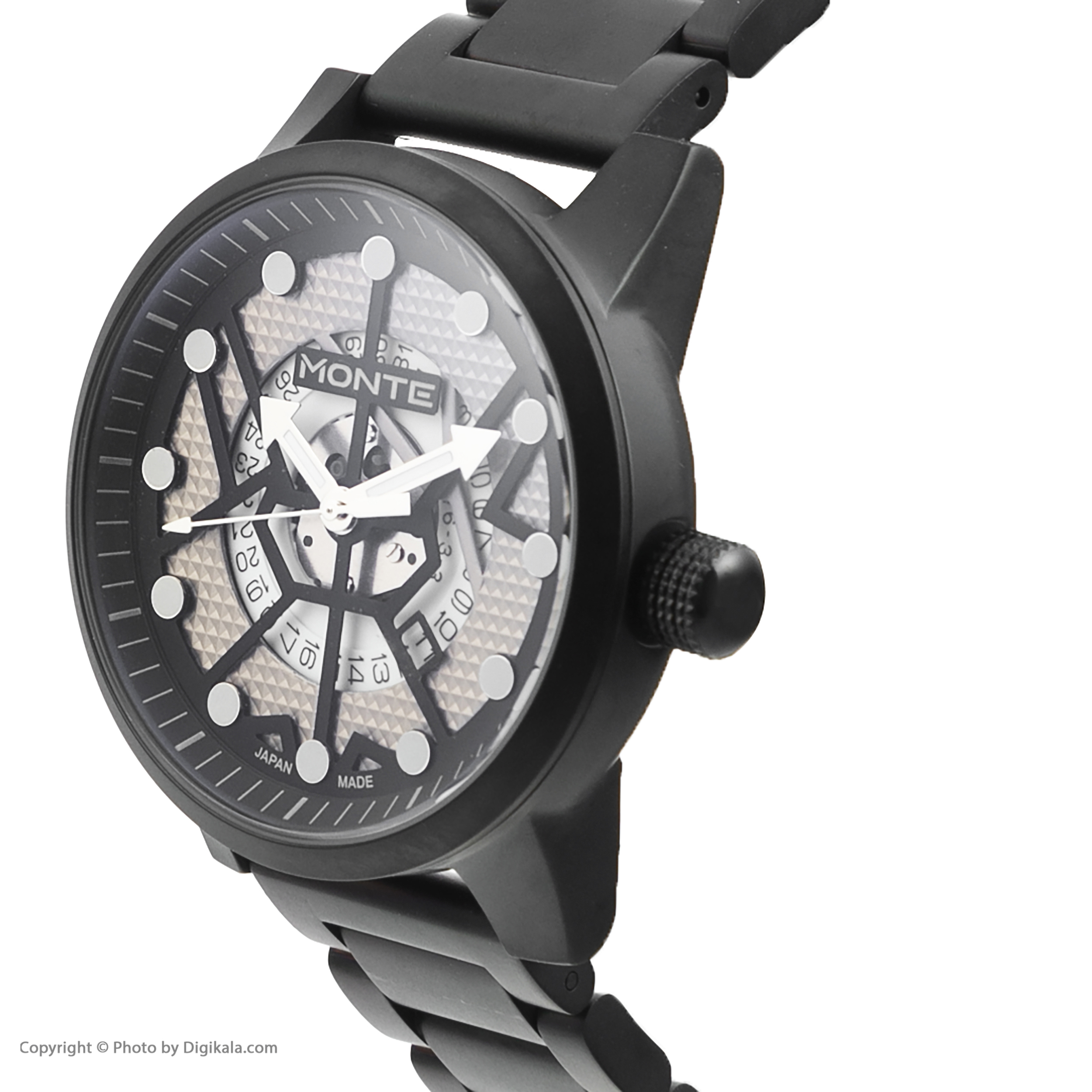 کد تخفیف                                      ساعت مچی عقربه ای مردانه مونته مدل M751340-BW