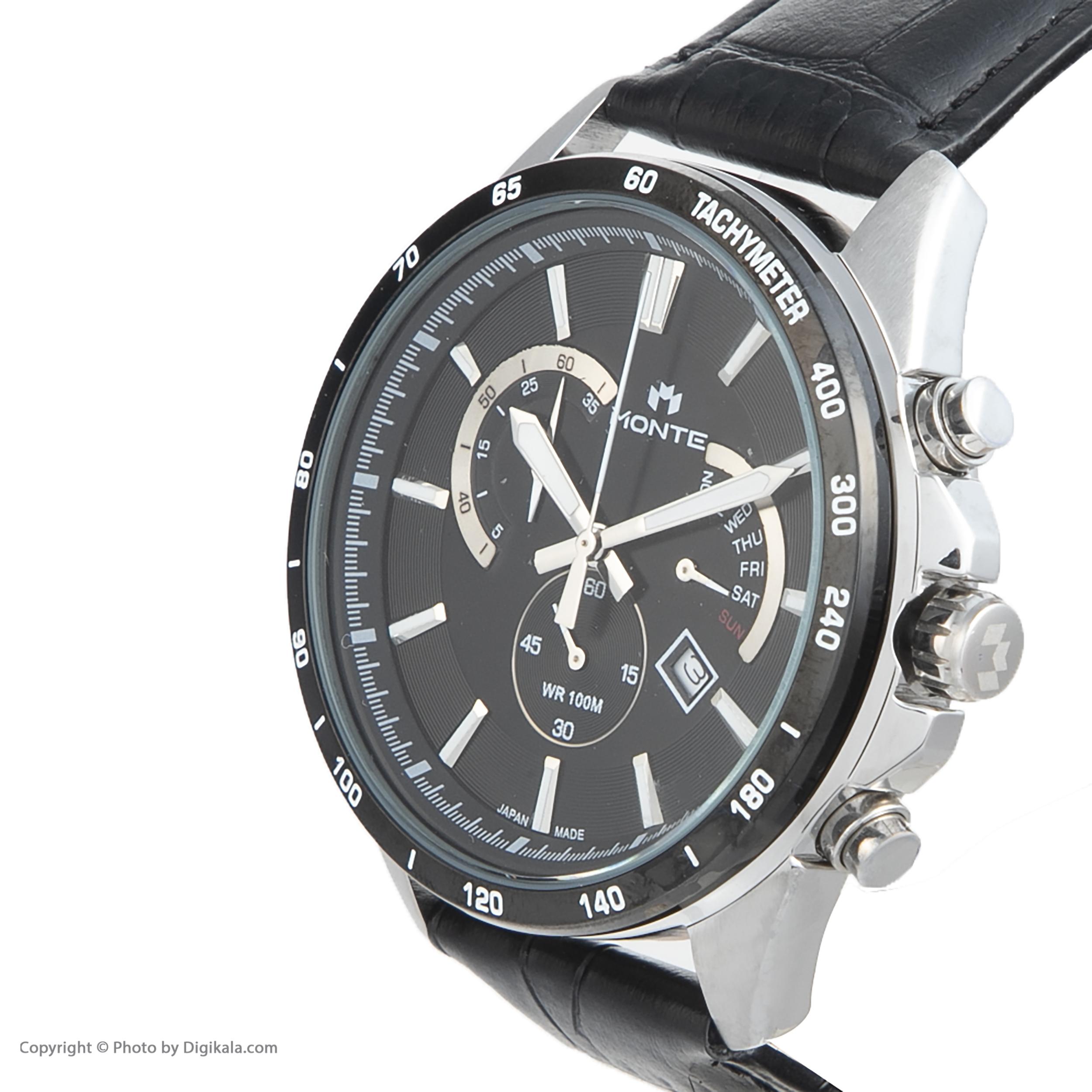 کد تخفیف                                      ساعت مچی عقربه ای مردانه مونته مدل M1754324-BLB