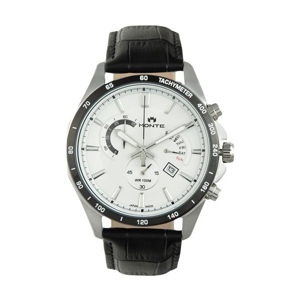 ساعت مچی عقربه ای مردانه مونته مدل M1754324-BLW
