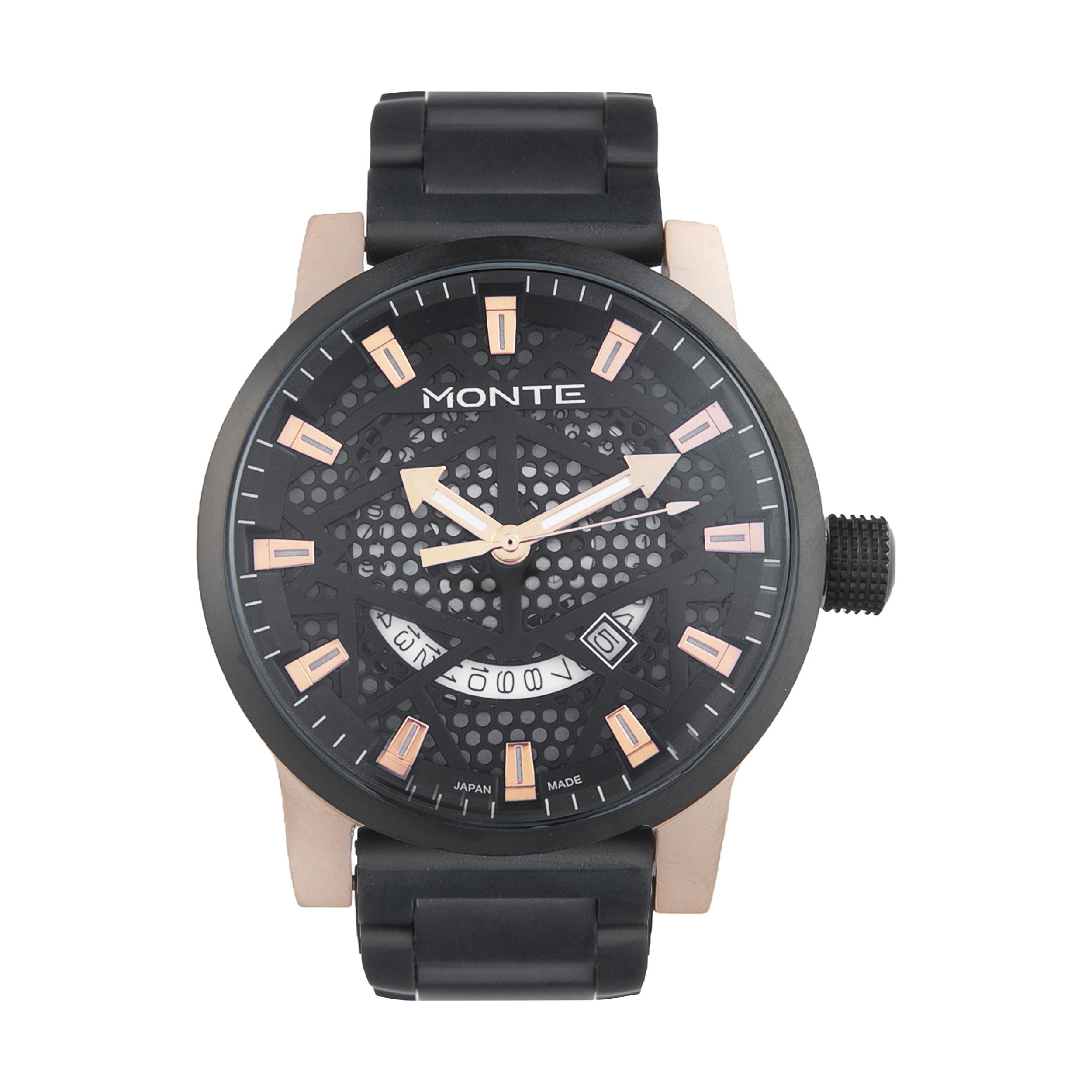 کد تخفیف                                      ساعت مچی عقربه ای مردانه مونته مدل M751340-BRG