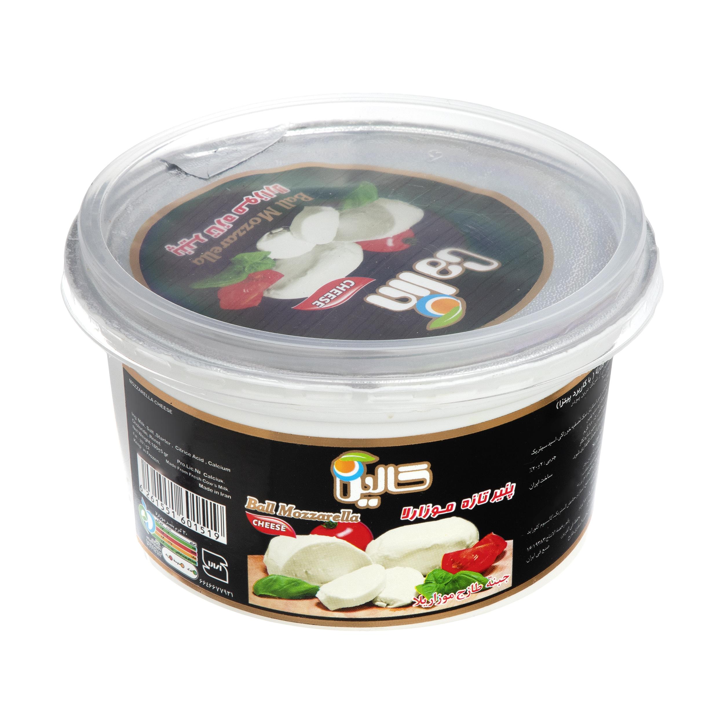 پنیر موزارلا تازه کالین وزن 180 گرم