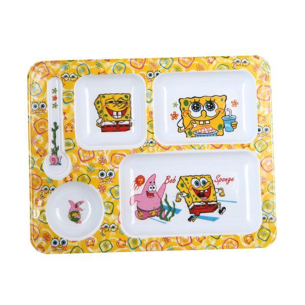 ظرف غذای کودک مدل باب اسفنجی کد 703