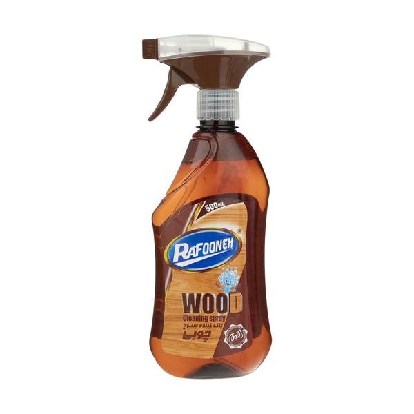 اسپری پاک کننده سطوح چوبی رافونه کد 01 حجم 500 میلی لیتر