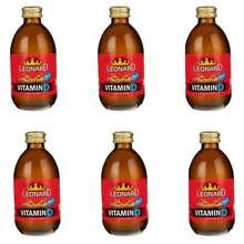 نوشابه انرژی زا ویتامین دی لئونارد - 240 گرم بسته 6 عددی