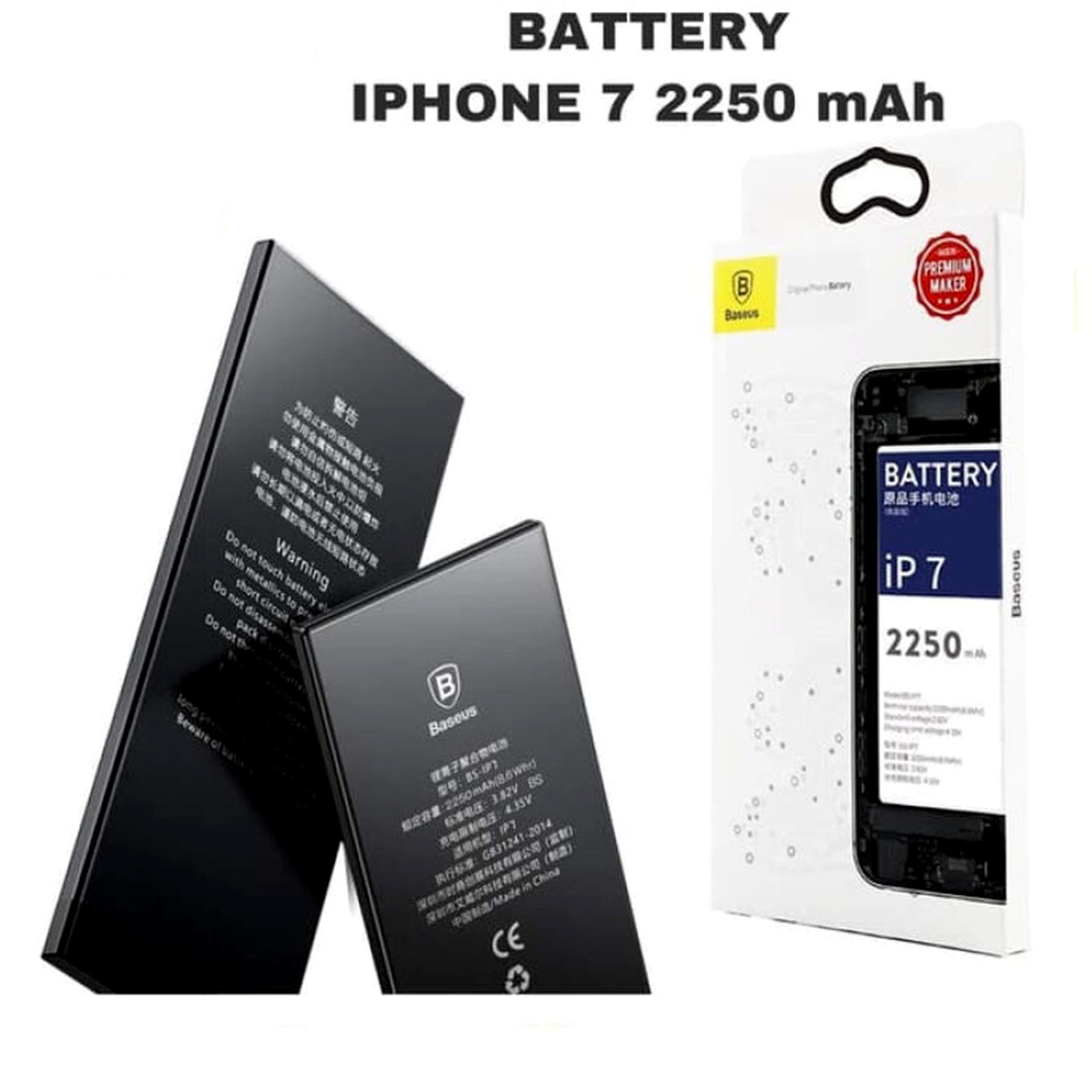 باتری موبایل باسئوس مدل ACCB-BIP7 ظرفیت 2250 میلی آمپر ساعت مناسب برای گوشی موبایل اپل iPhone 7