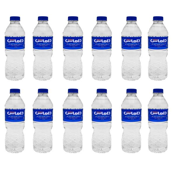 آب معدنی داماش -500 میلی لیتر بسته 12 عددی