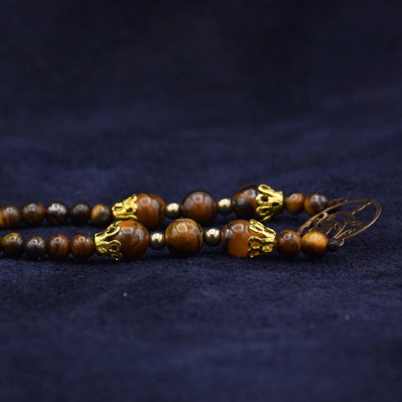 گردنبند طلا 18 عیار زنانه آمانژ کد 895D3385 -  - 3