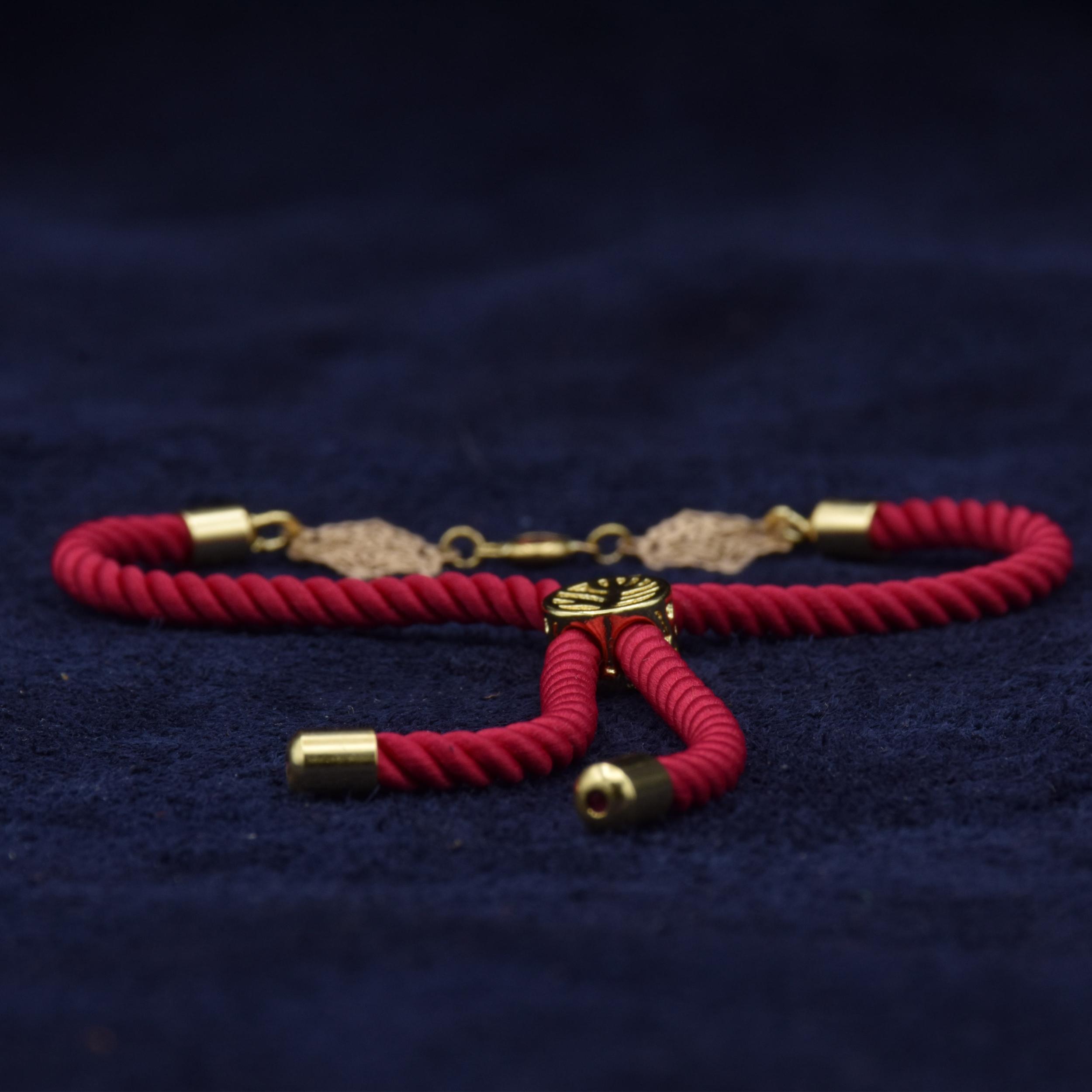 دستبند طلا 18 عیار زنانه آمانژ طرح اسلیمی کد 912D3389 -  - 2