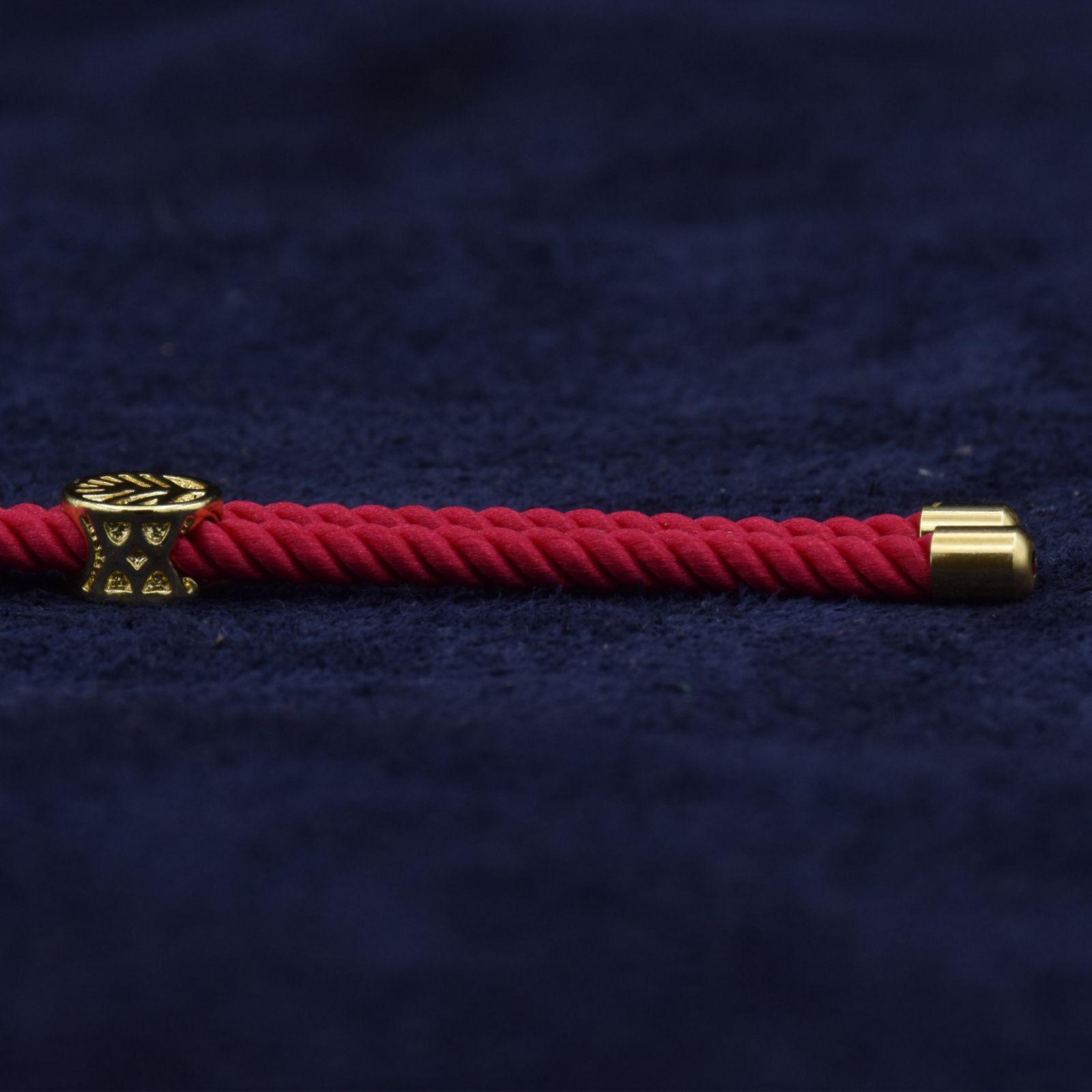 دستبند طلا 18 عیار زنانه آمانژ طرح اسلیمی کد 912D3389 -  - 3