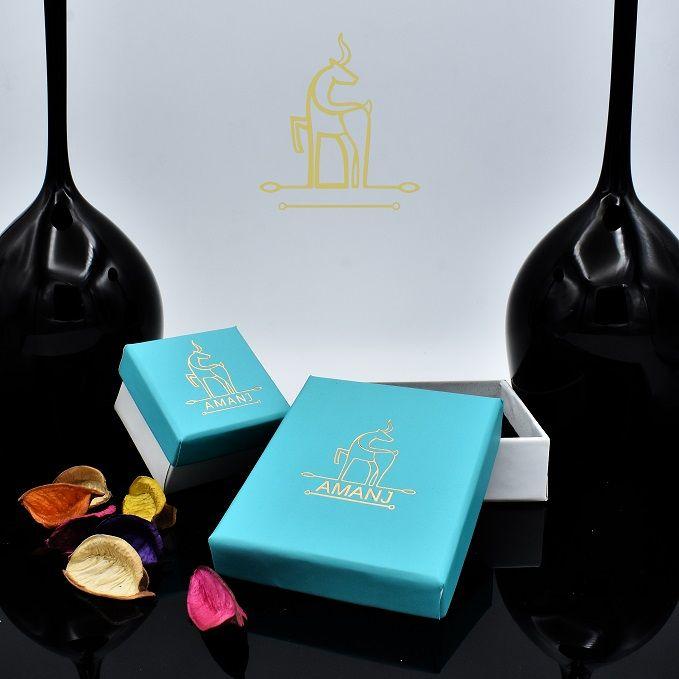 گردنبند طلا 18 عیار زنانه آمانژ طرح شعر کد 919D8890 -  - 2