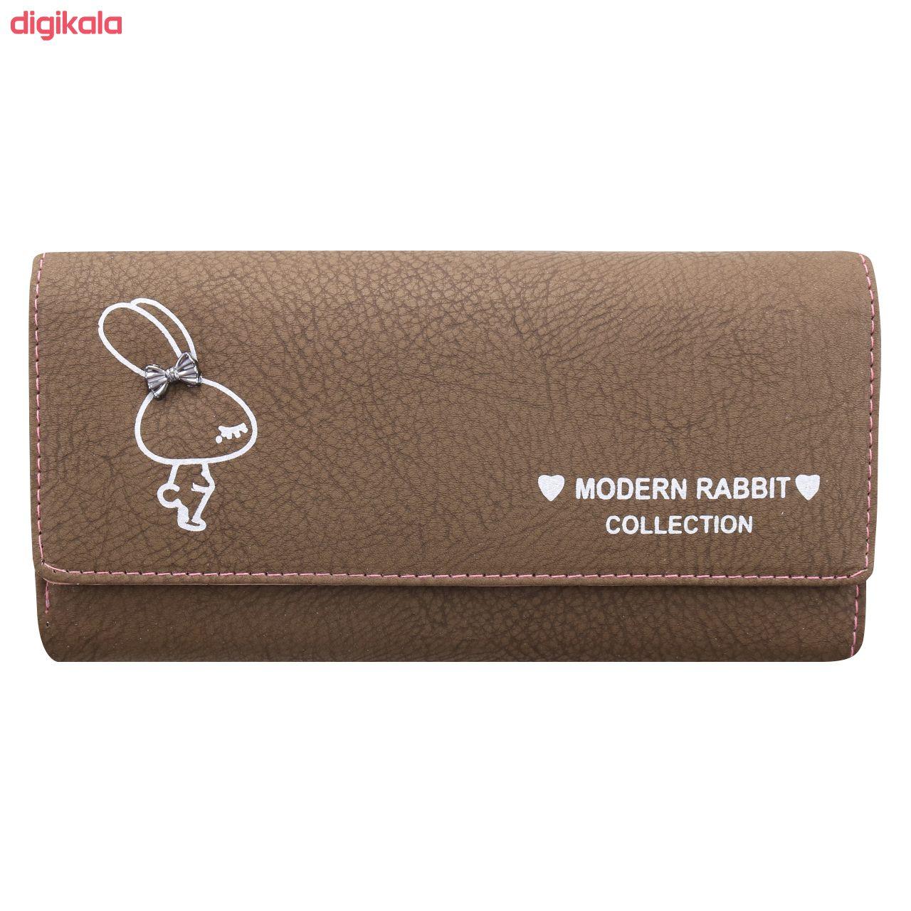 کیف پول زنانه طرح خرگوش کد BG 33 main 1 1