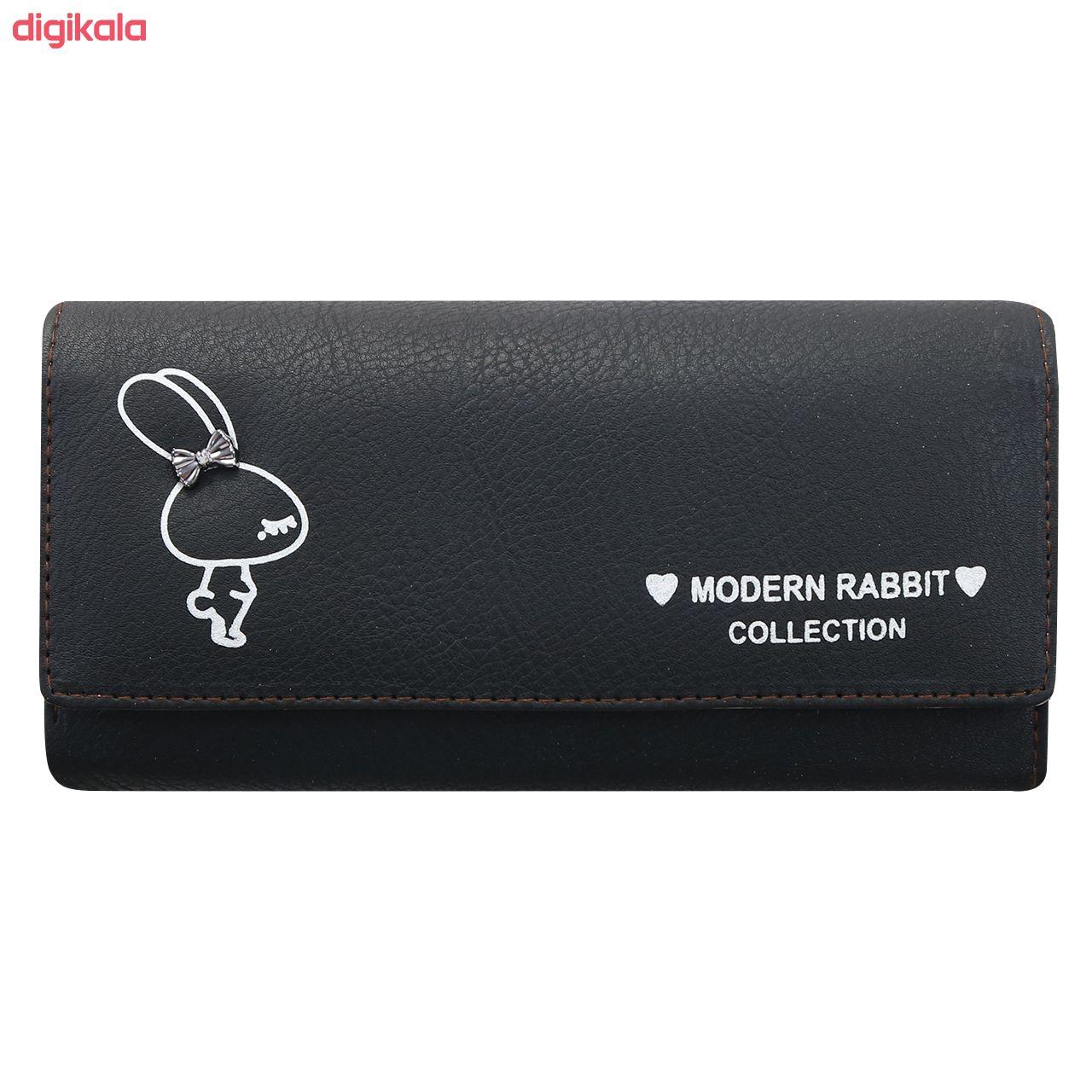کیف پول زنانه طرح خرگوش کد BG 33 main 1 8