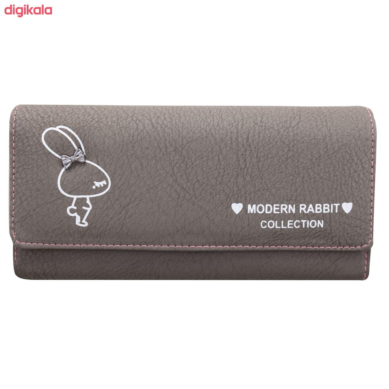 کیف پول زنانه طرح خرگوش کد BG 33 main 1 12
