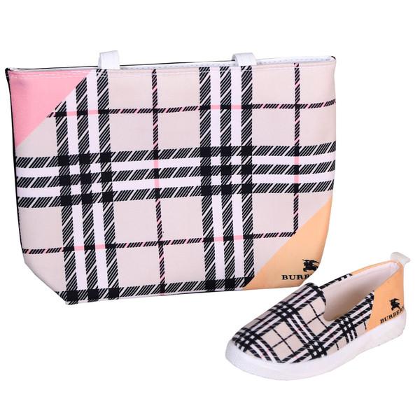 ست کیف و کفش زنانه کد         sg851