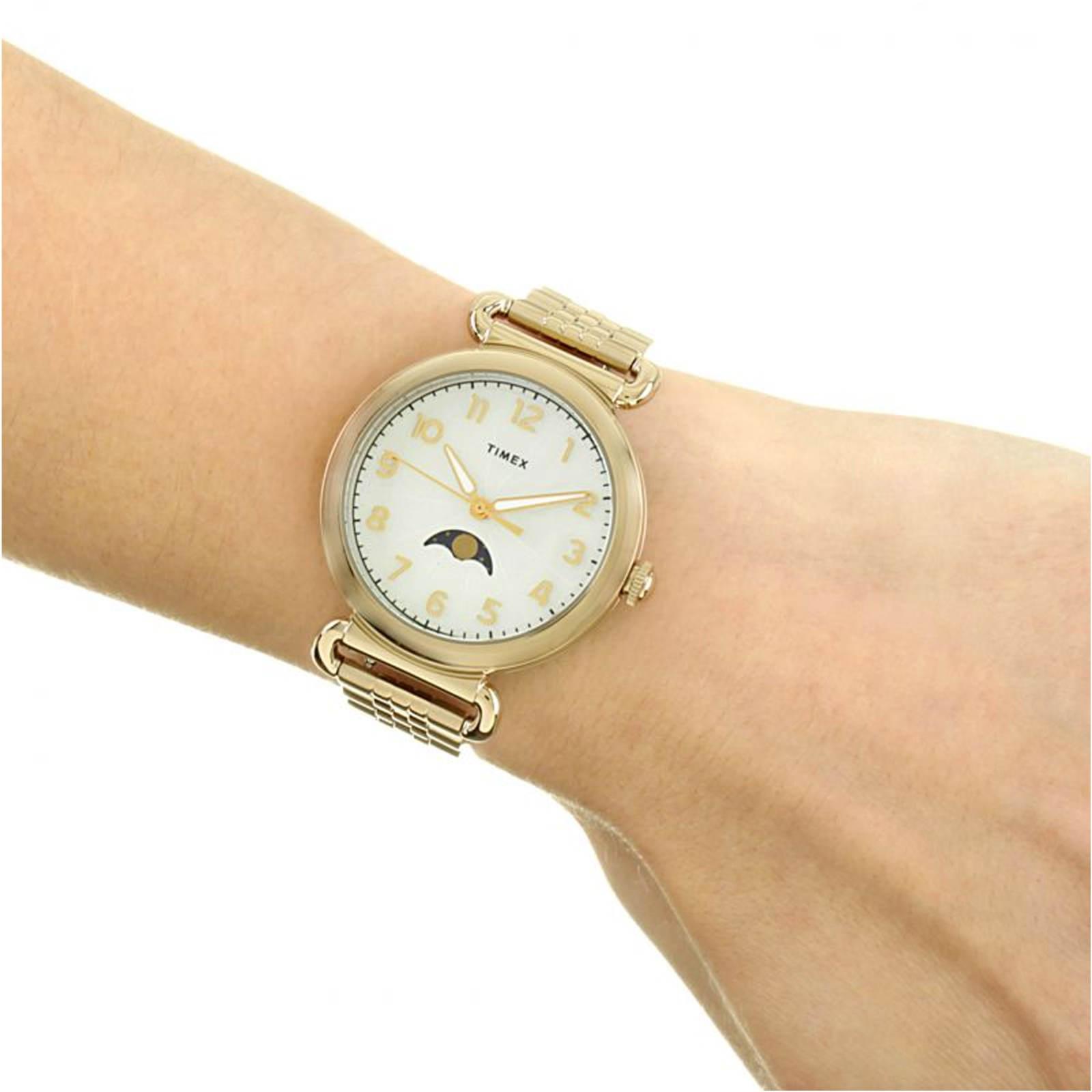 ساعت مچی عقربه ای زنانه تایمکس مدل TW2T89500 -  - 4