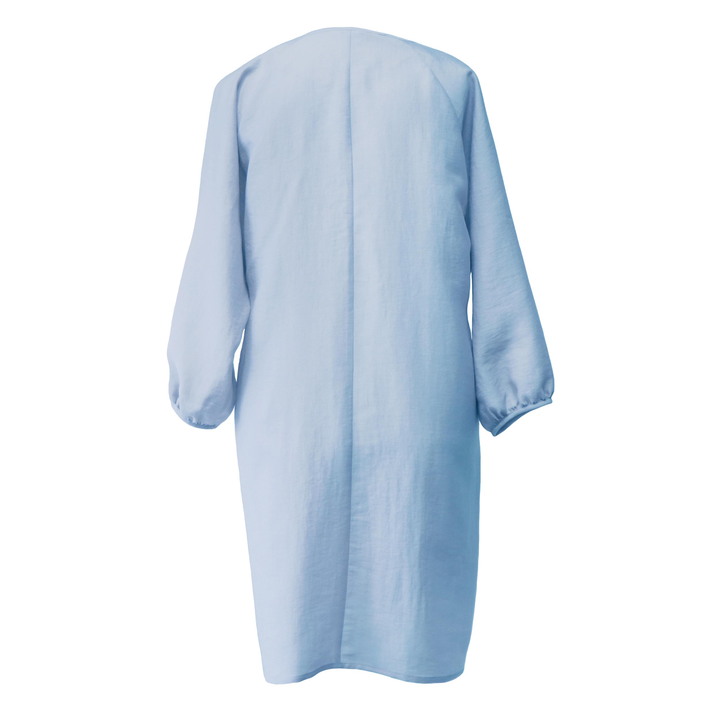 مانتو زنانه دِرِس ایگو کد 1100030 رنگ آبی -  - 2