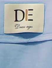 مانتو زنانه دِرِس ایگو کد 1100030 رنگ آبی -  - 3