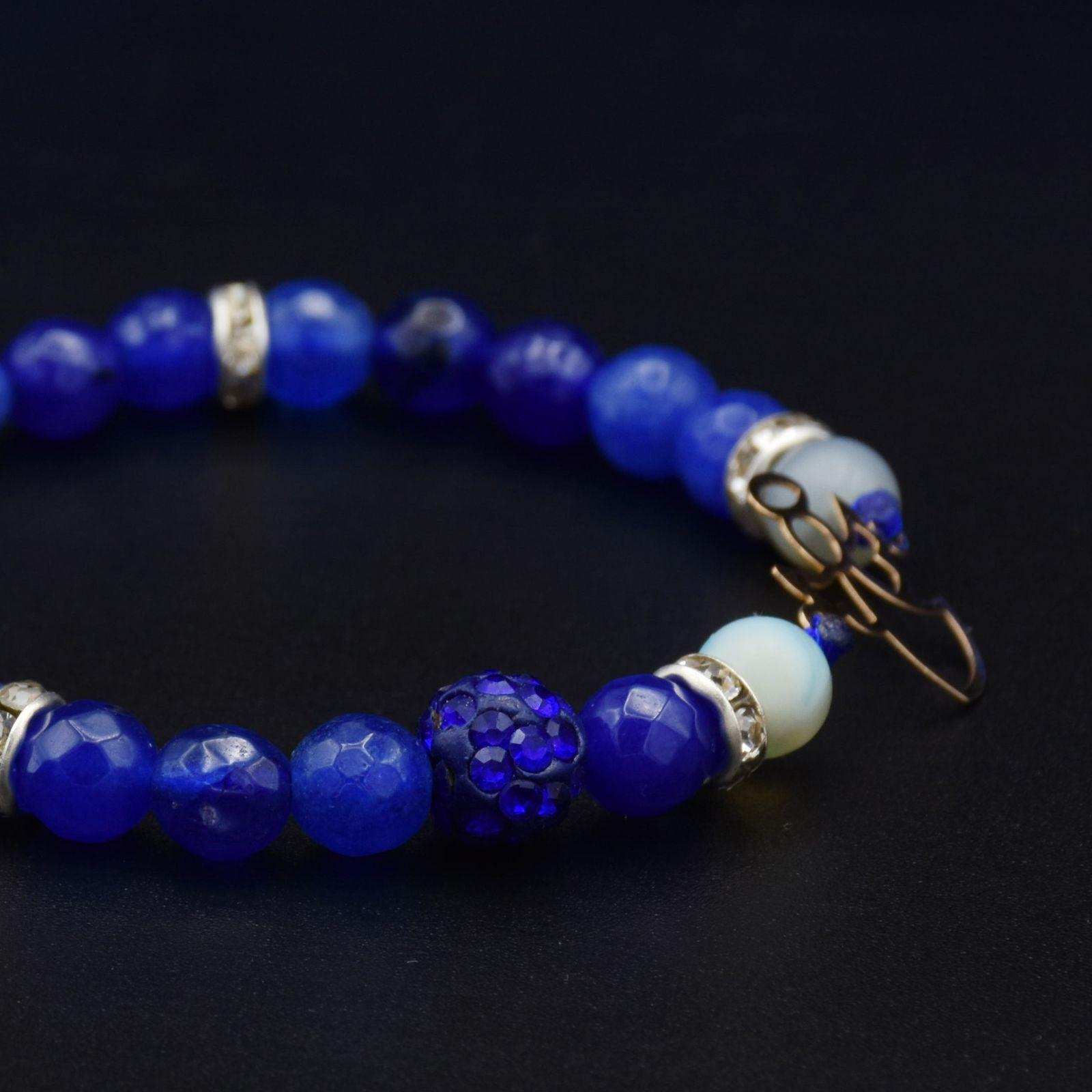 دستبند طلا 18 عیار زنانه آمانژ طرح فرشته کد 945D8898 -  - 3