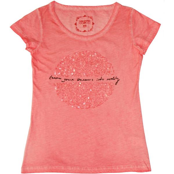 تی شرت زنانه لی کوپر مدل NEILA 242009 PNK