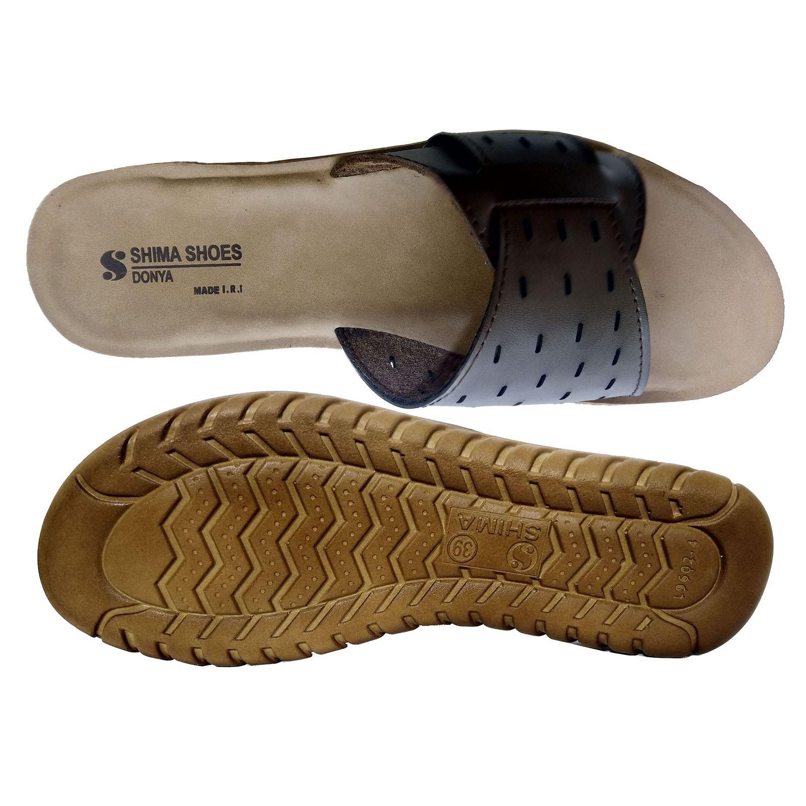 دمپایی زنانه کفش شیما مدل دنیا کد sh-15dongh -  - 2