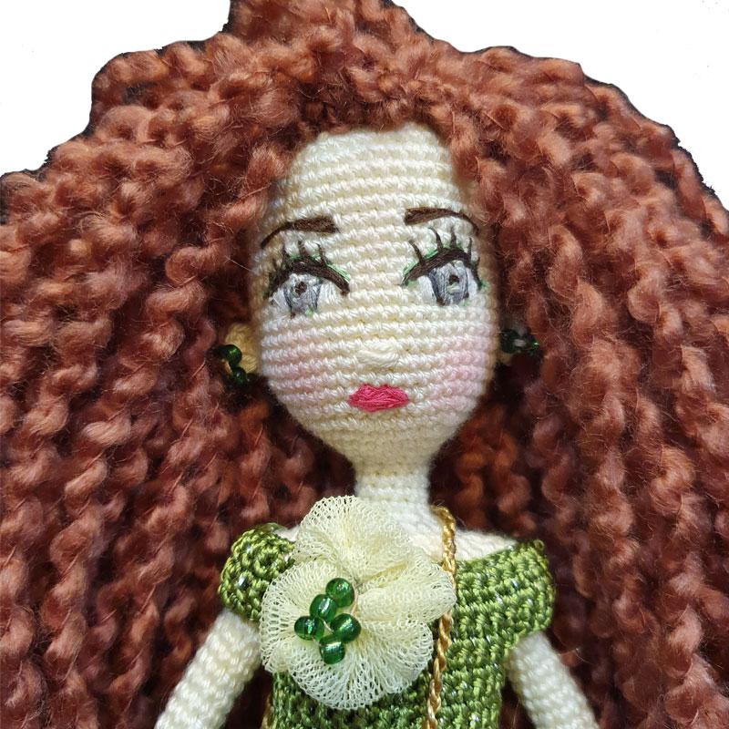 خرید                      عروسک بافتنی مدل لیلی