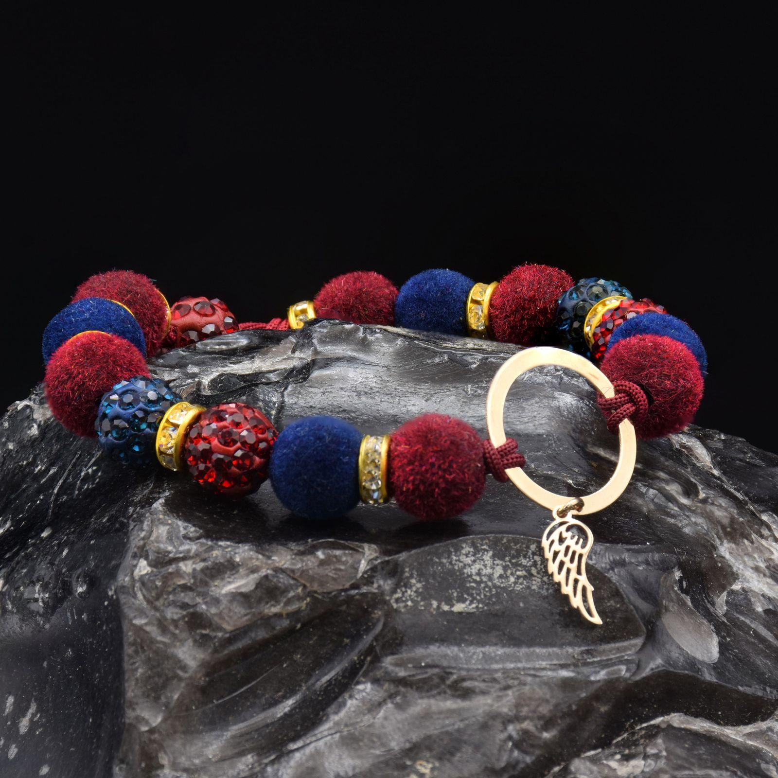 دستبند طلا 18 عیار زنانه آمانژ طرح بال کد 946D8899 -  - 1