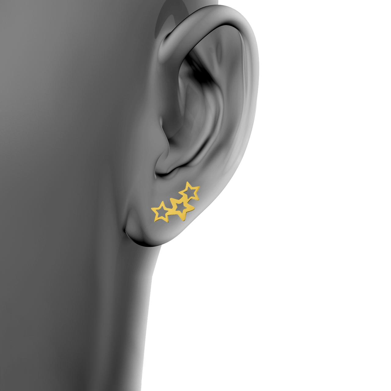 گوشواره زنانه اقلیمه کد ES511 -  - 3