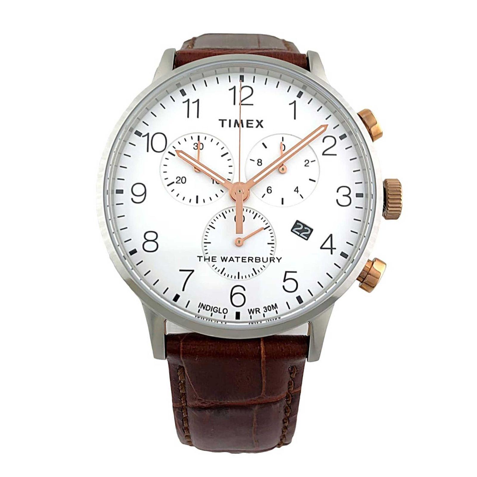 ساعت مچی عقربه ای مردانه تایمکس مدل TW2R72100 -  - 1
