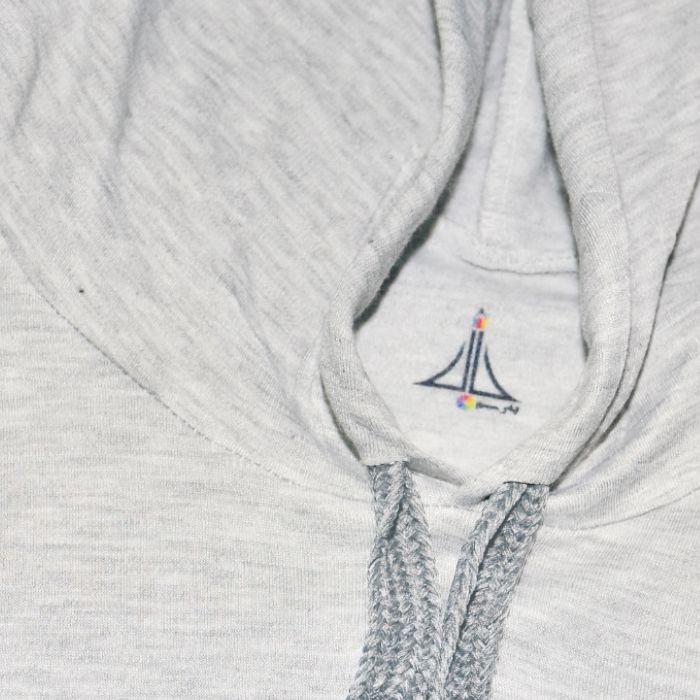 هودی زنانه به رسم طرح پاریس کد 1176 -  - 2