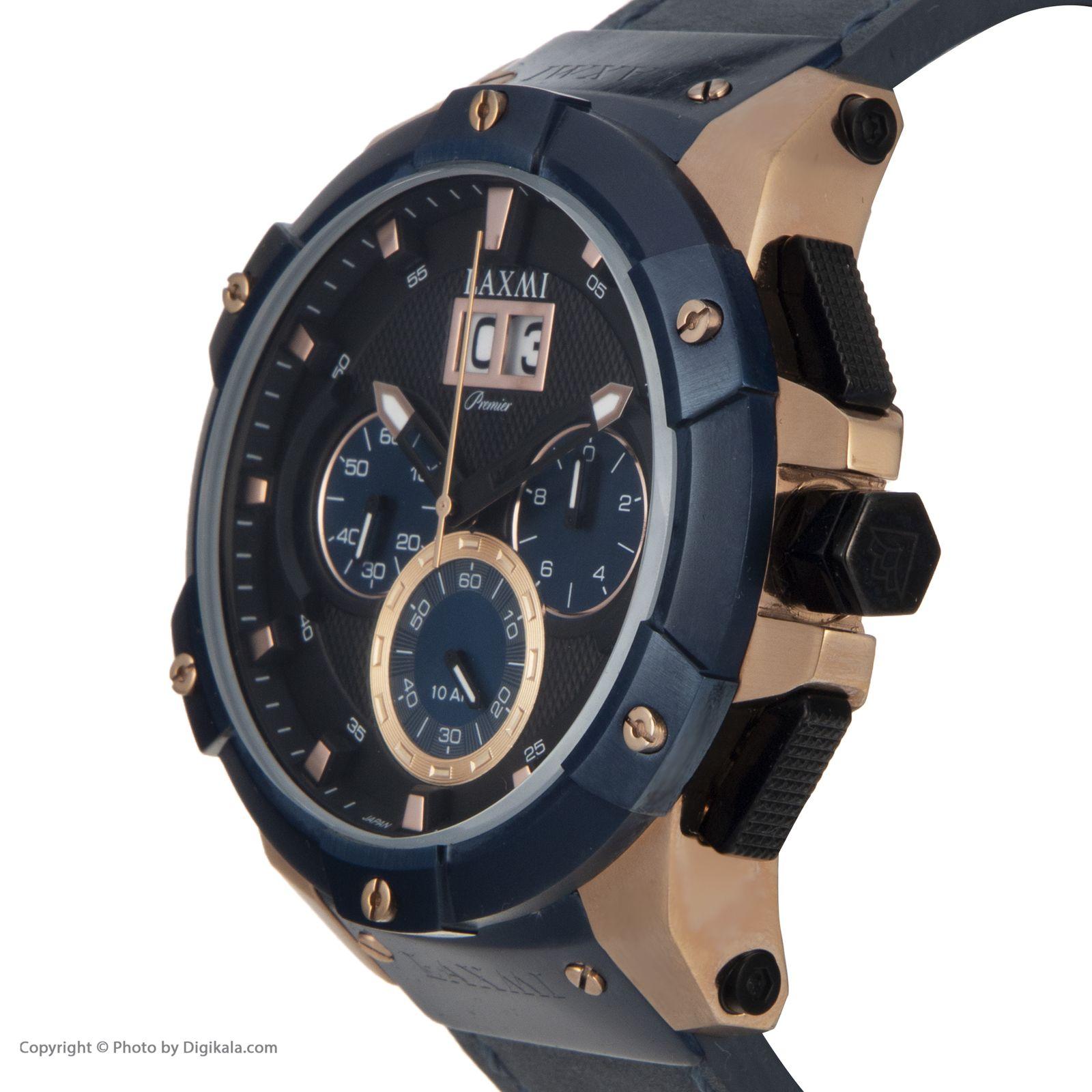 ساعت مچی عقربه ای مردانه لاکسمی مدل 8012 -  - 1