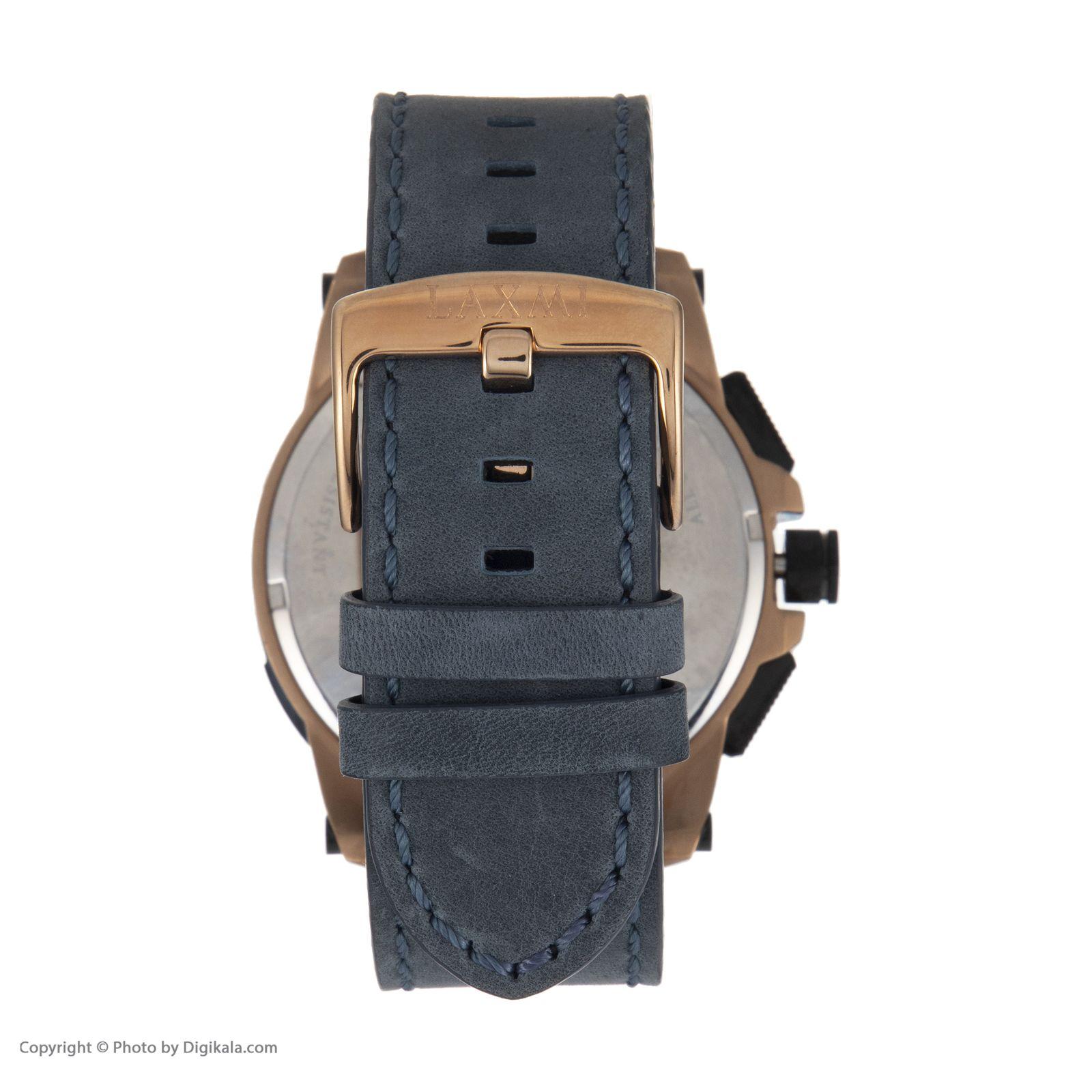 ساعت مچی عقربه ای مردانه لاکسمی مدل 8012 -  - 2