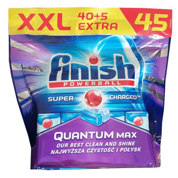 قرص ماشین ظرفشویی فینیش مدل Quantum Max بسته 45 عددی